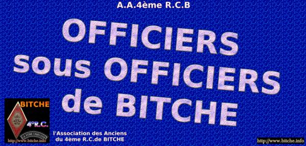 OFFICIERS SOUS OFFICIERS DE BITCHE 001