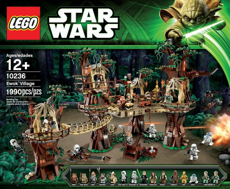 LEGO_10236-_Star_Wars_Ewok_Village_1