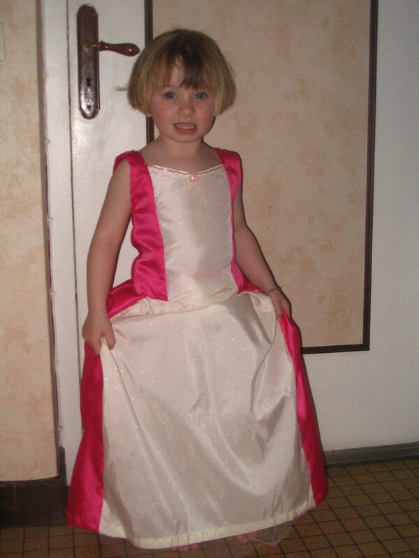robe princesse taille 5ans