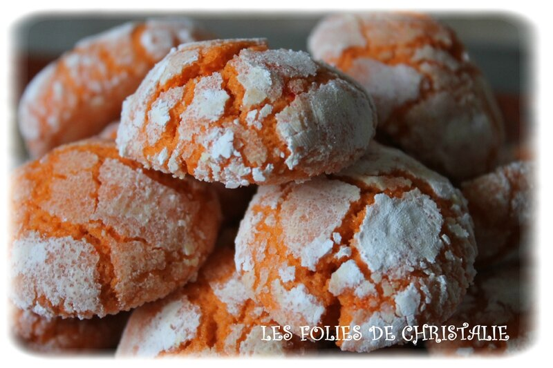 Crinckles orange 10
