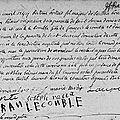 Bonnier Bertrand & Cécile Le Comble_Acte de mariage authentique_Dinan 1744