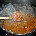 Gite de bœuf a la tomate