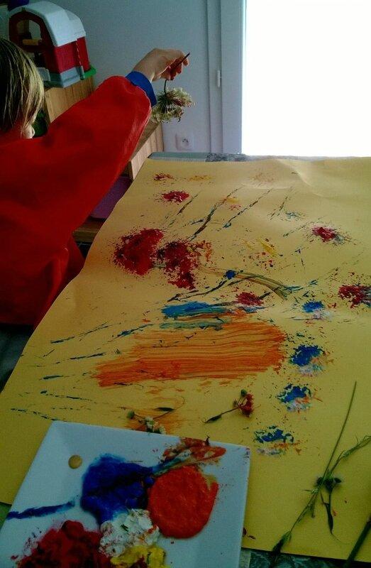 Peinture floral