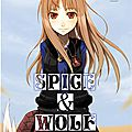 Spice&wolf, tome 1 (roman) - extraits