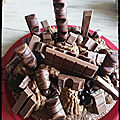 Gâteau tout choco kinder 18 ans kc 🎂