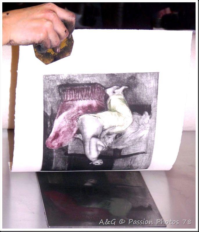La lithographie sur métal