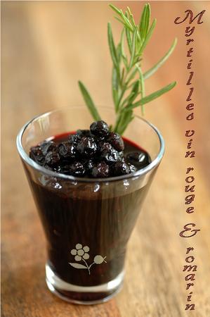 Myrtilles vin rouge & romarin_2