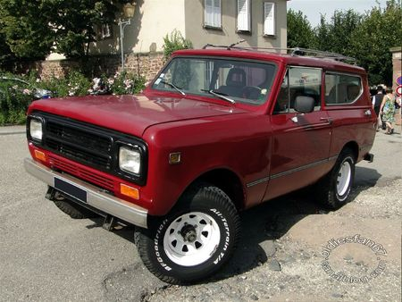 International Harvester scout II 1980 Rohan Locomotion de Saverne 2010 2