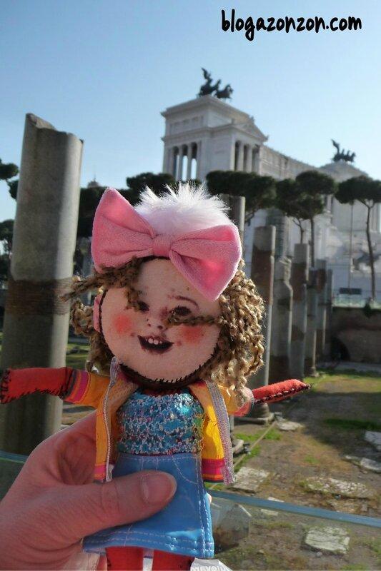Melle ROSE à ROME