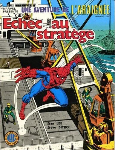 lug une aventure de l'araignée 17 echec au stratège