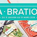 Sale-a-bration du 03 janvier au 31 mars 2018