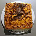 Gâteau de semoule au potiron