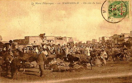 12_MARRAKECH_Un_coin_du_Souk