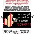 Régionales 2015 : consigne de vote du parti niçois.