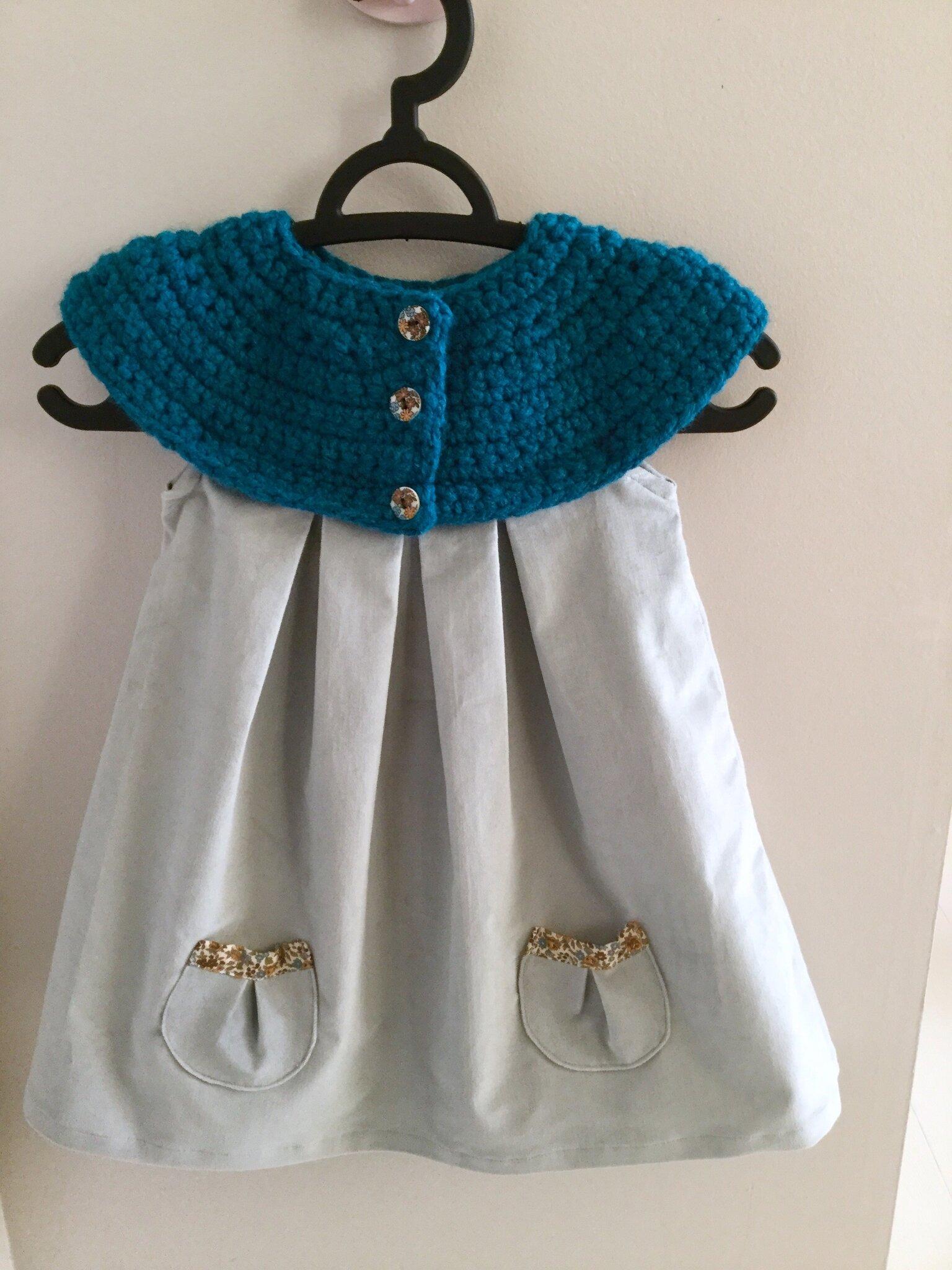 La petite robe bi-matière version hiver