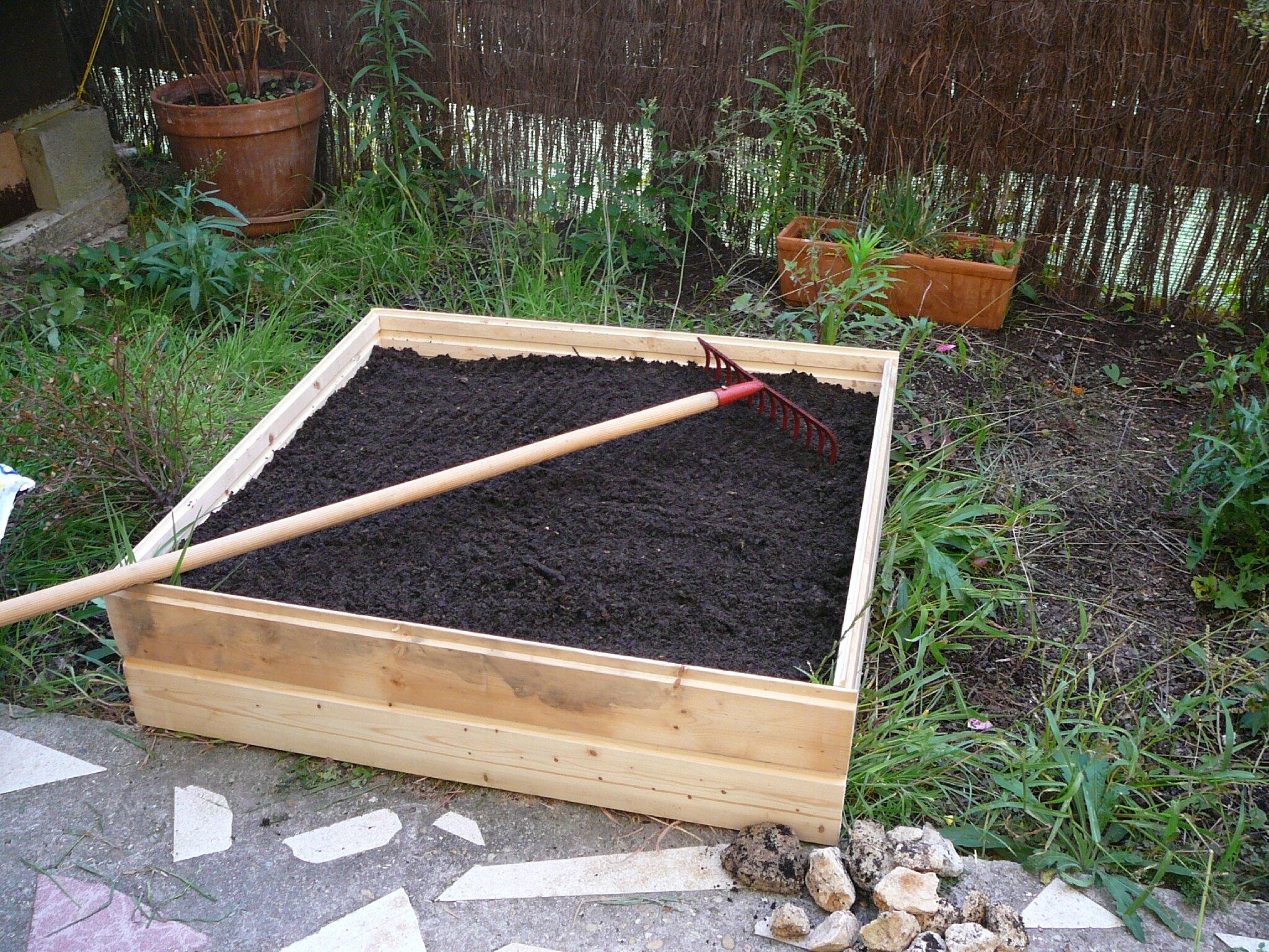 Un Potager En Carré mon jardin potager en carré. - ecosophie 17