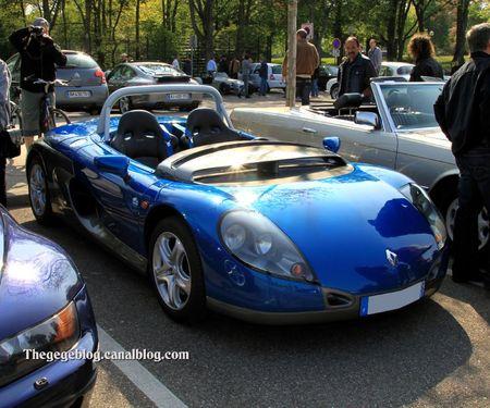 Renault spider sport sans pare-brise (Rencard Haguenau avril 2011) 01