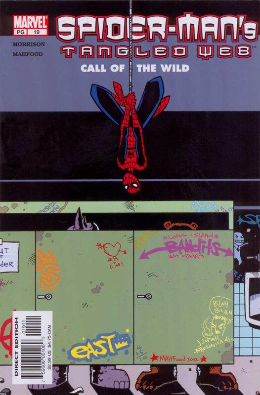 tangled web spiderman 19