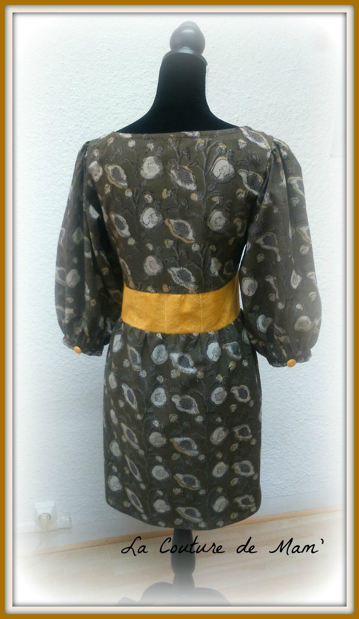 Robe-tunique modèle Maison