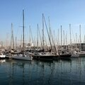 Barcelone, le port, reflet_6388