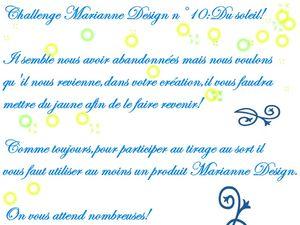 challenge Marianne Design 10