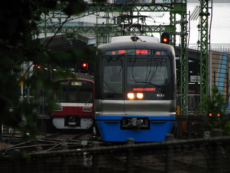 Hokusô 9100, Shinagawa eki