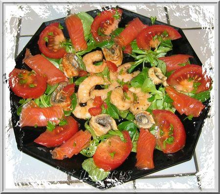 Salade mer et rivière