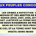 Mbuta sakameso denonce les crimes contre l'humanite envers les adeptes de bdk et son chef saint mfumu muanda nsemi !