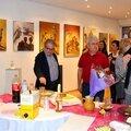Vernissage Galerie la Mosaïque du 8 au 28 Octobre 2015 à Saint-Jean. Clémence Caruana / Laurence Labat / Thierry Villet