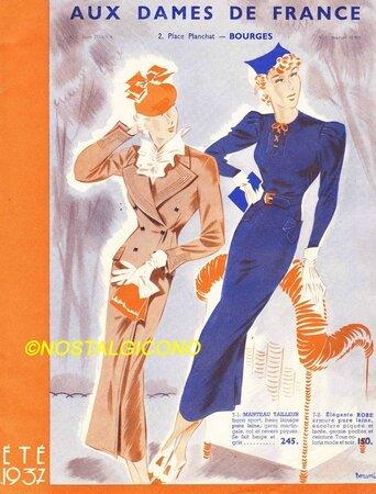 Dames de France-1937-A