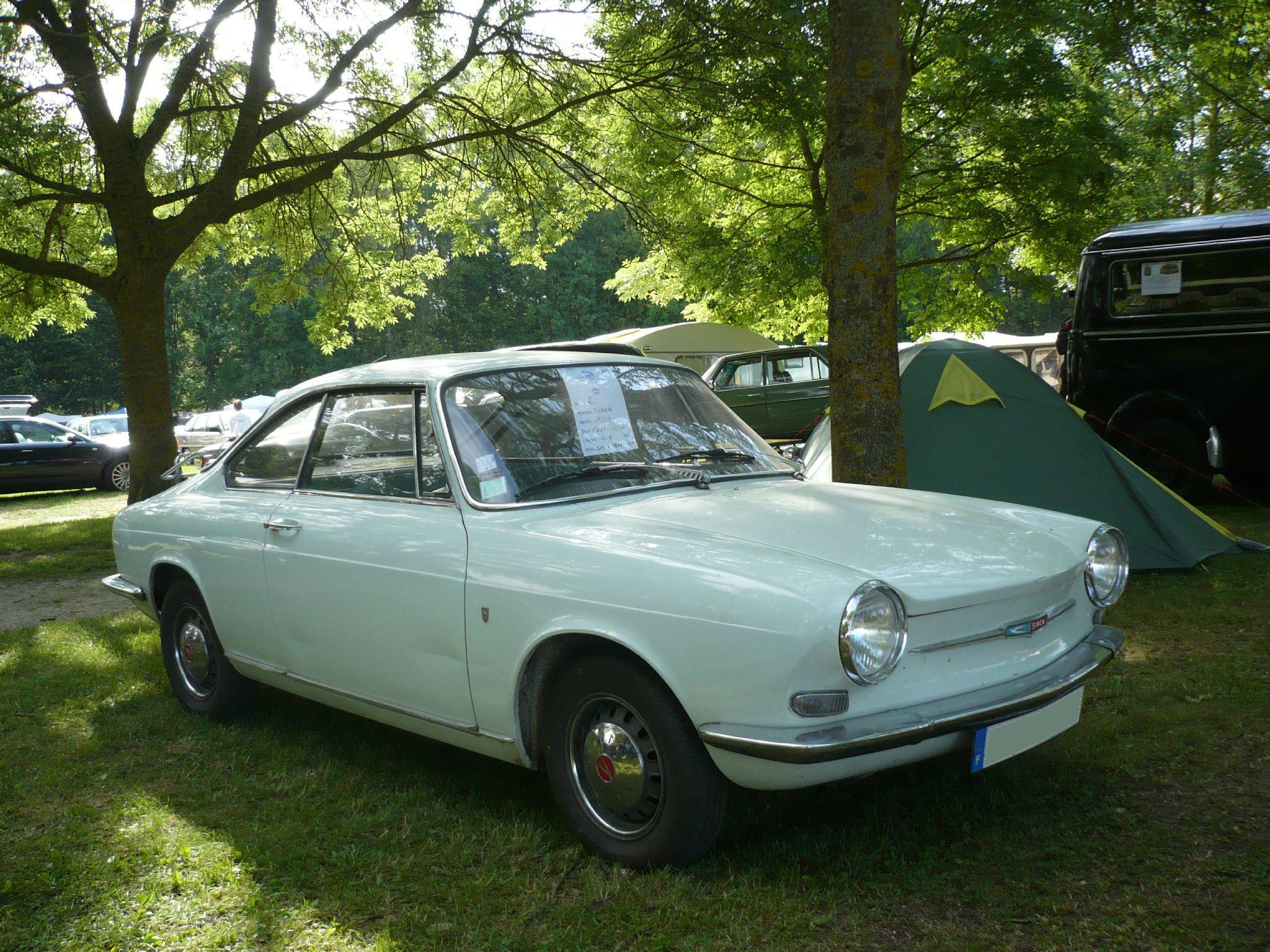 SIMCA 1000 coupé 1967 Madine (1)