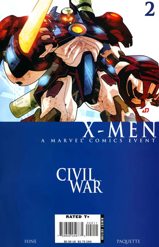 civil war x-men 02