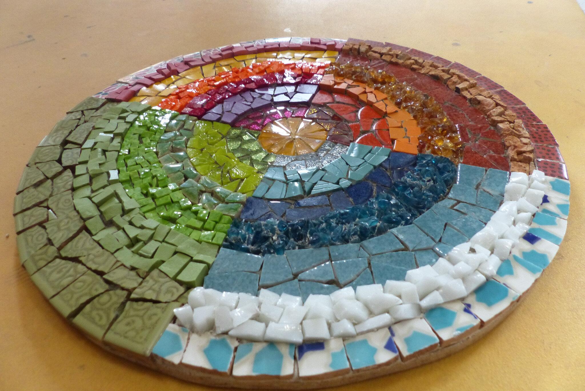 437b3c6456f7 Quelques mosaïques réalisées depuis cette été - Atelier Mosaïque et ...