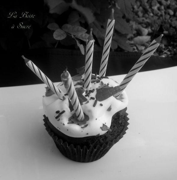 Cupcakes B & W 6
