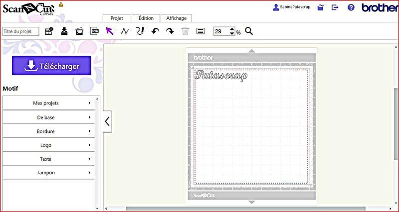 tutoriel texte ScanNCut 09