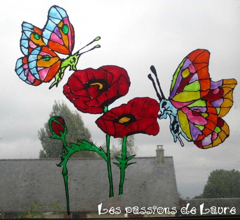 Coquelicots---papillons-en-window-color
