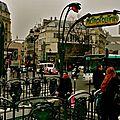 Station Pigalle Lignes 2 & 12.
