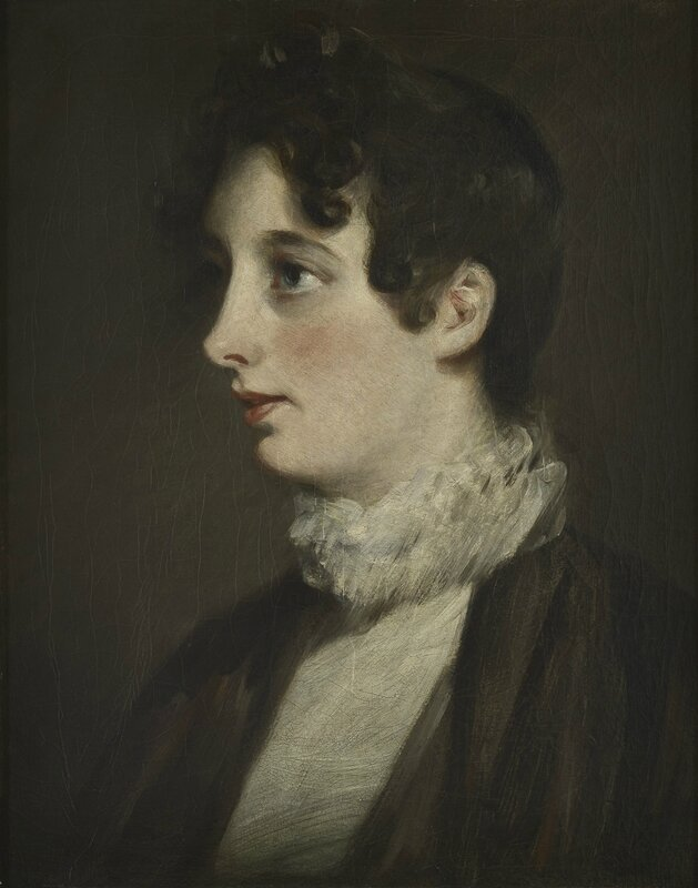 John Constable, Portrait of Laura Moubray, 1808