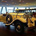 Mercedes benz 24-100-140 ps roadster 1926