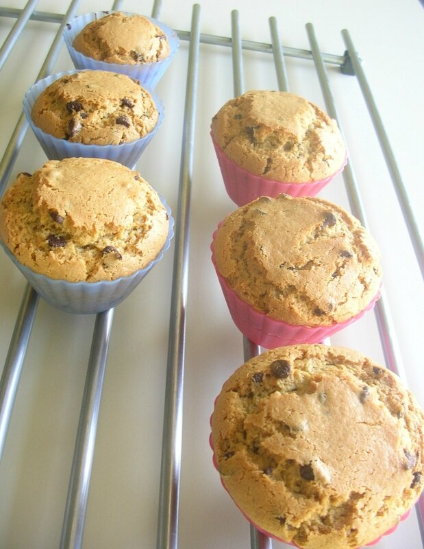 muffins beurre cacahouete