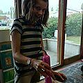 Premier atelier chez artéis à bayonne