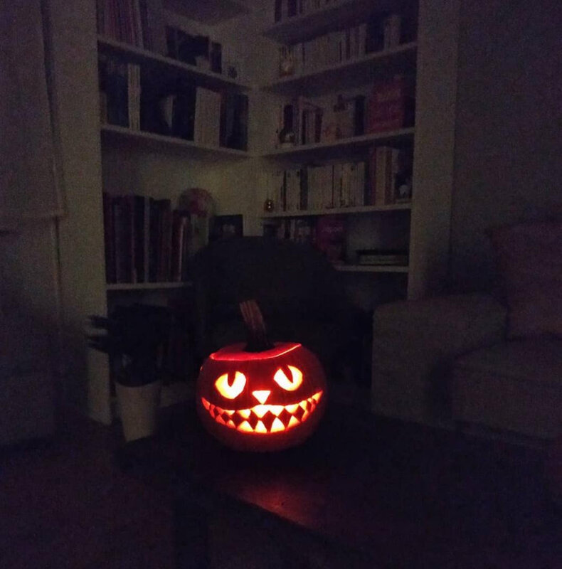 Halloween Pumpkin - Cheshire Cat