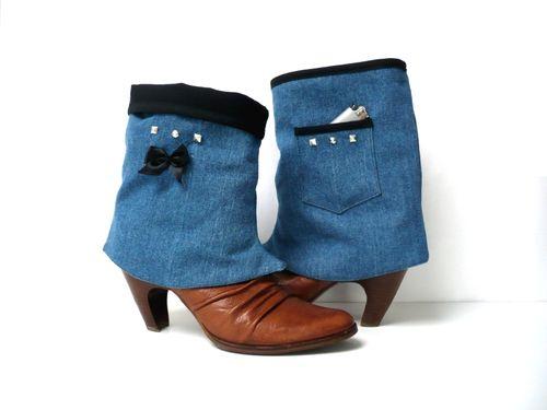 Guêtres Jeans et polaire So féminine 2012