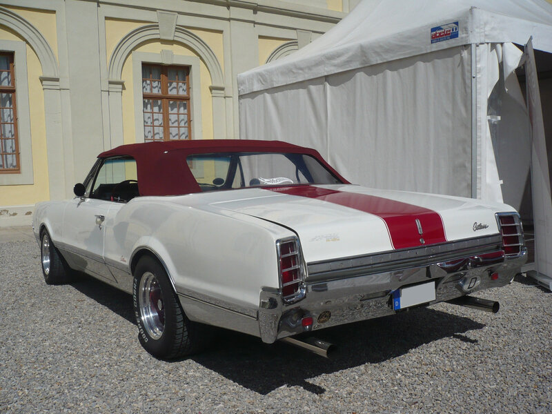OLDSMOBILE F-85 Cutlass 2door convertible 1966 Ludwigsburg (2)