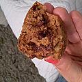 Un muffin chocolat-amande qui permet de ne pas trop culpabiliser