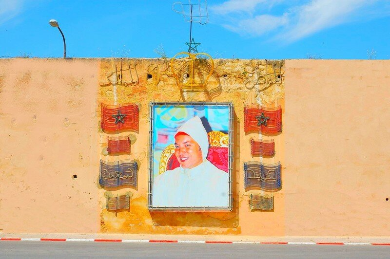Portrait Mohammed 6 Meknes