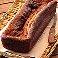 Cake léger et moelleux à la banane et aux épices...
