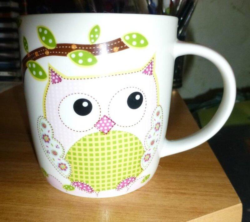 AM tasse chouette