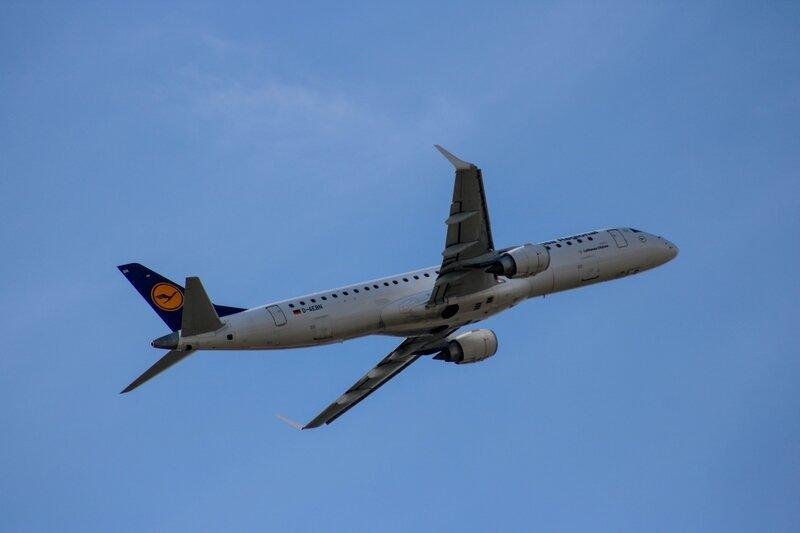 Embraer ERJ195LR de la Lufthansa