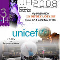 THE POSTER & FLYER FOR THE OFF 2008 - UNICEF